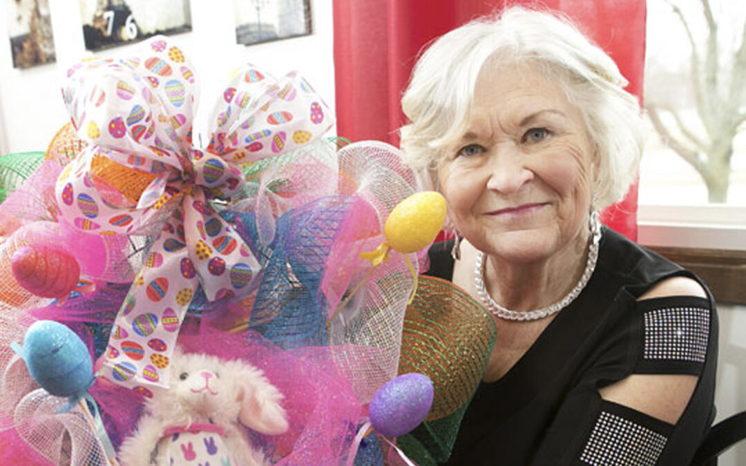 Crafter celebrates spring thanks to 3-D shoulder replacement surgery