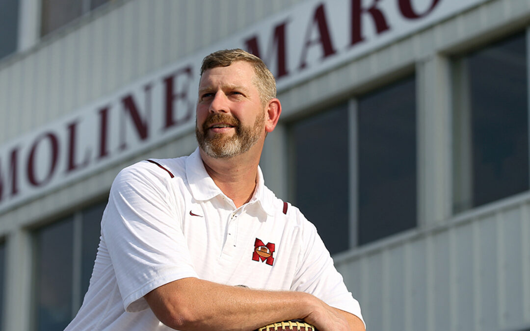 Maroon Pride: Moline High team doc and alum enjoys youth sports