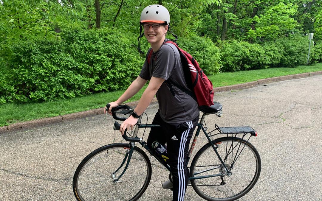 A lifetime of biking can take you places.
