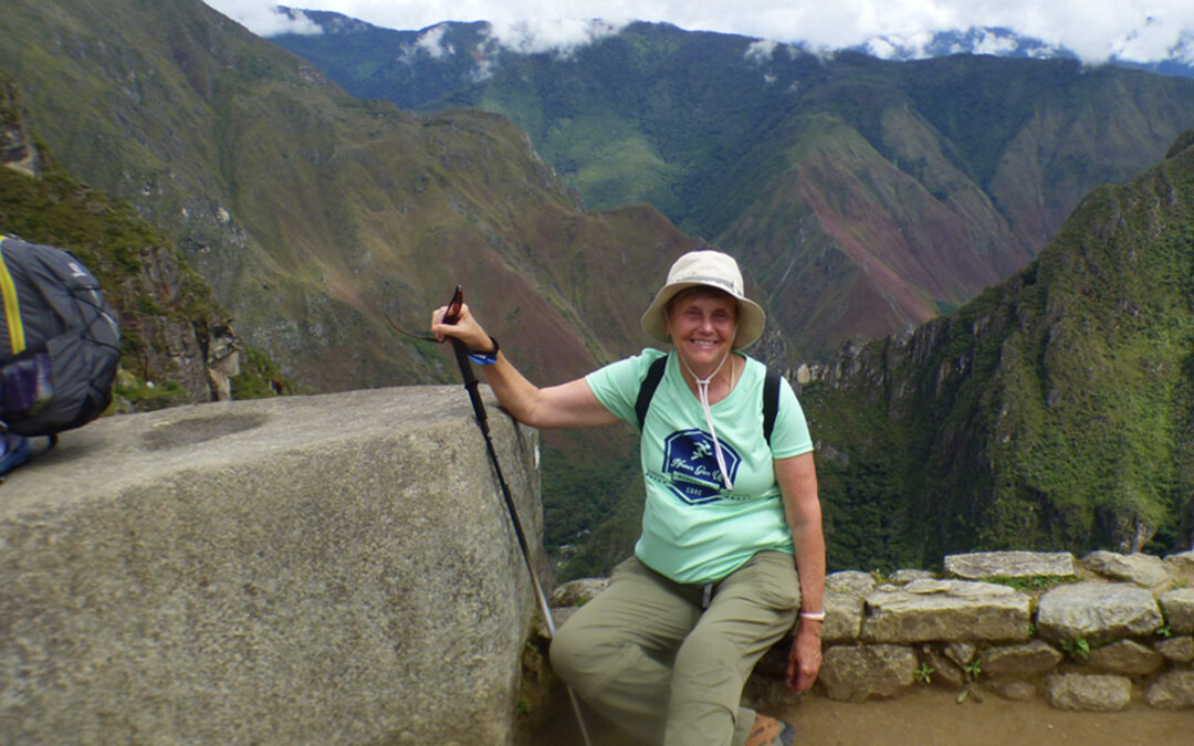 Globe trotter visits 75 countries and six continents on one new knee