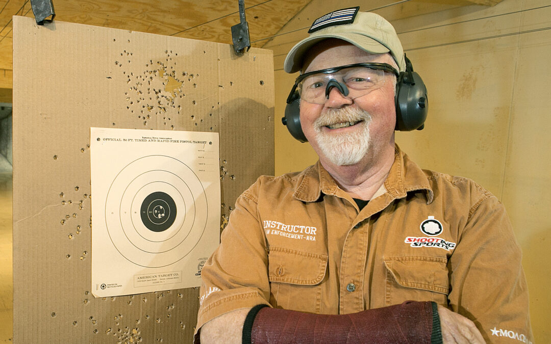 Champion shooter on target after four knee and wrist surgeries