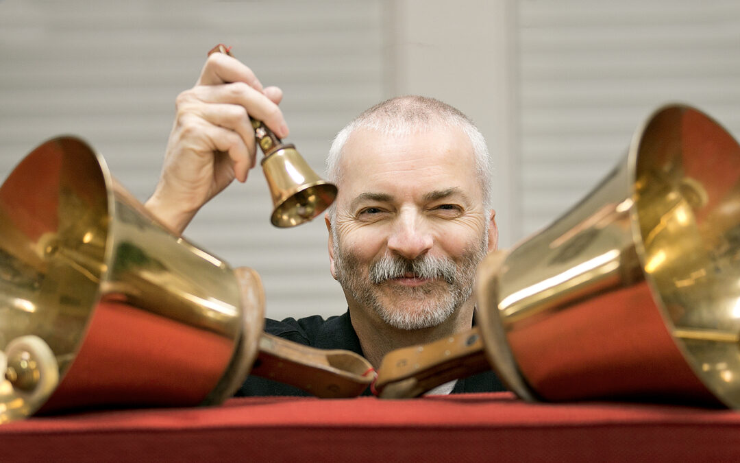 Shoulder surgery means bells ring again for QC man