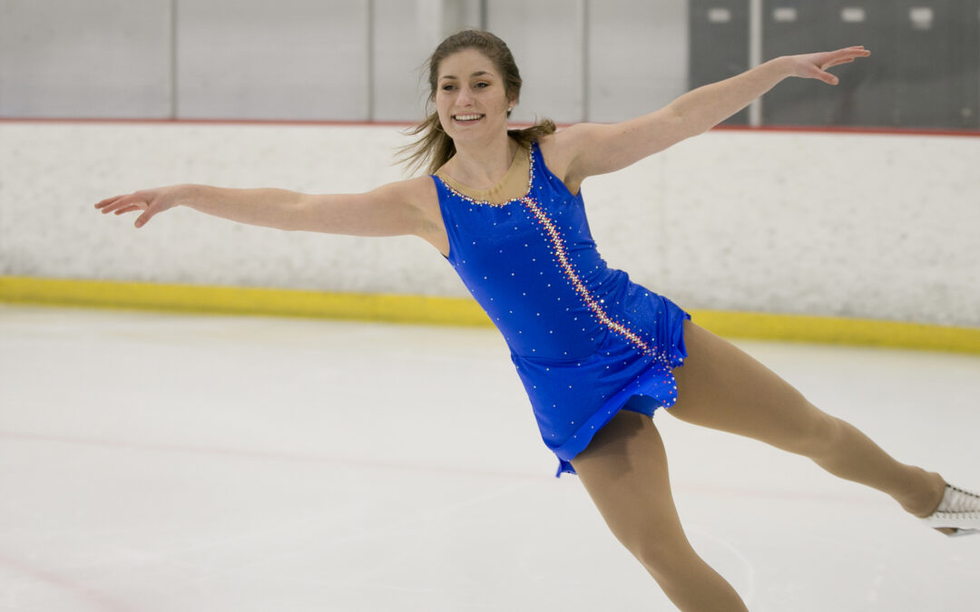 Pleasant Valley skating champ shares her passion for her Olympic sport