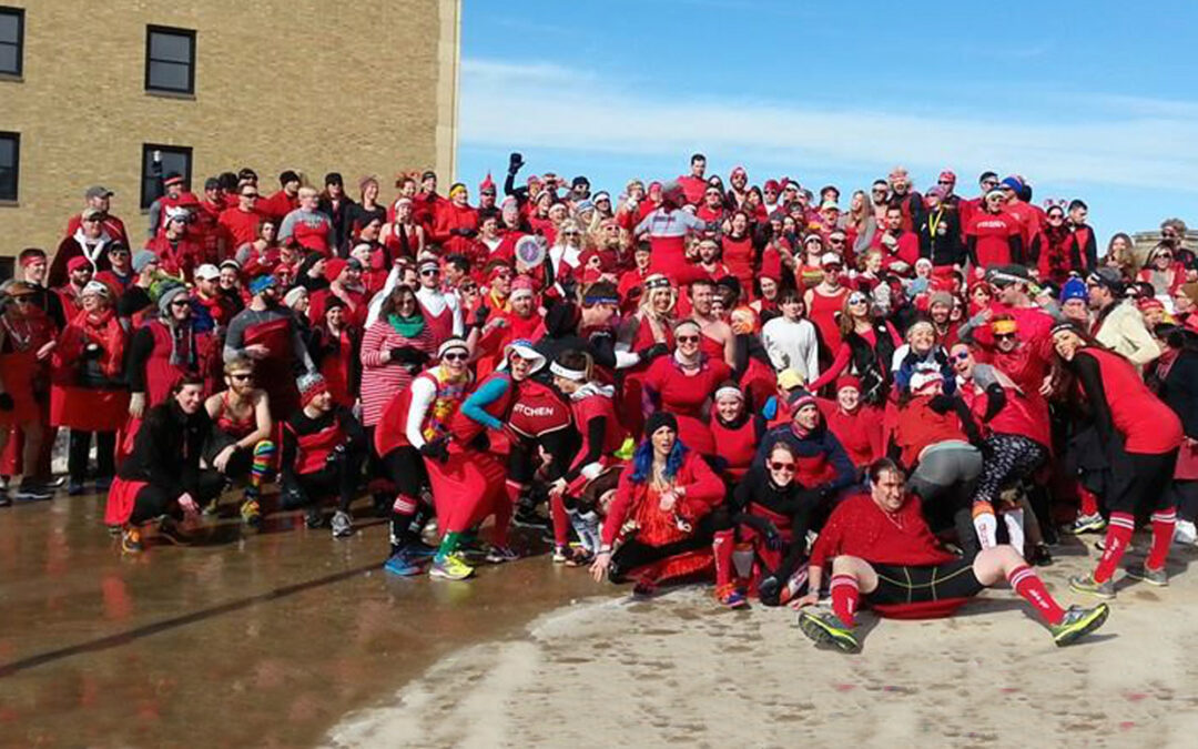 Nathan Tackett – founder of the Red Dress Run and the QC Hash House Harriers