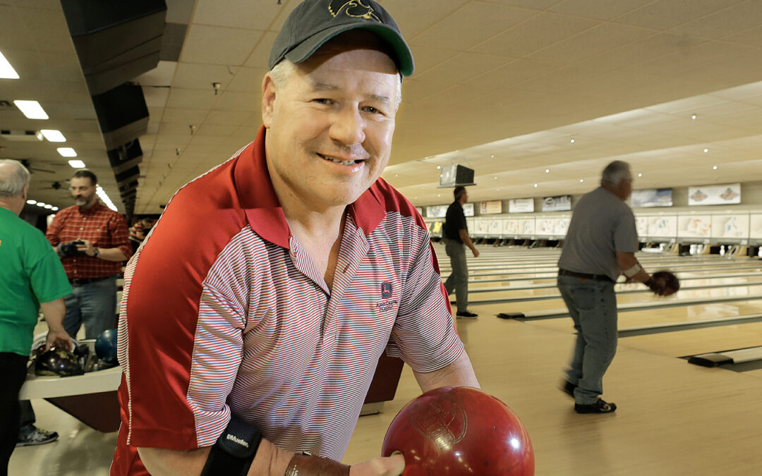 He's got game: LeClaire man back in action after rotator cuff surgery