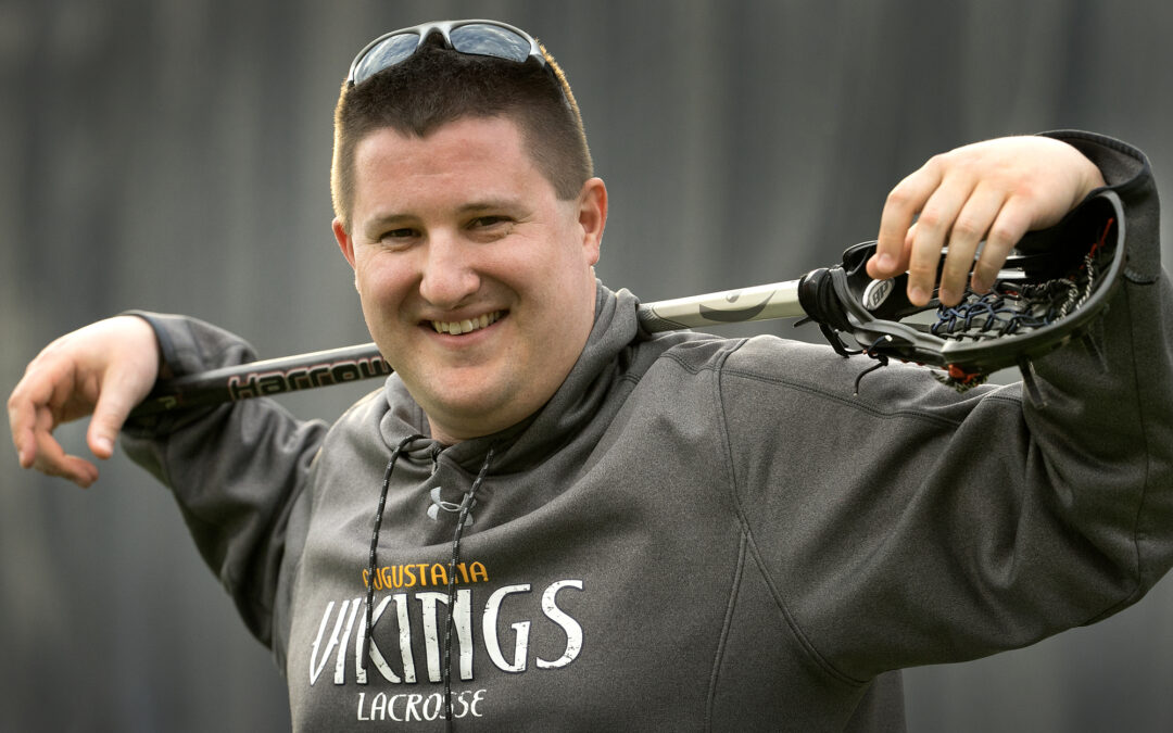 OATS puts Augustana lacrosse coach back in the game