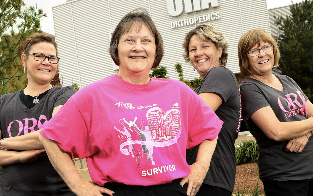 ORA colleagues conquer breast cancer together