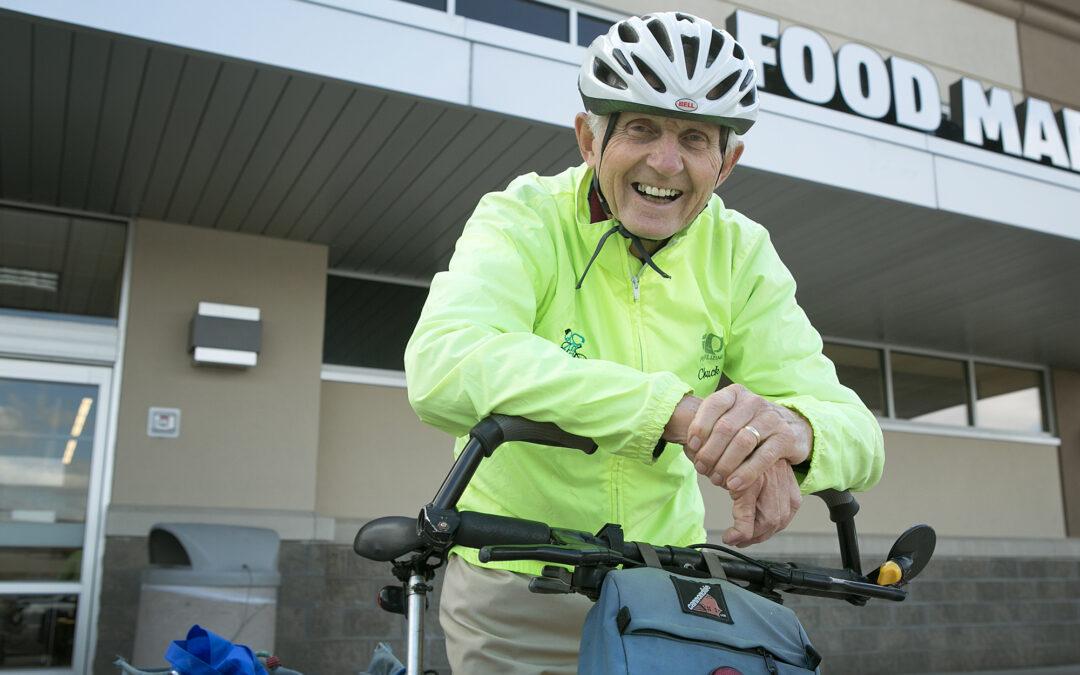 Peddling, balancing, living: QCBC's Chuck Oestreich shares his love of biking