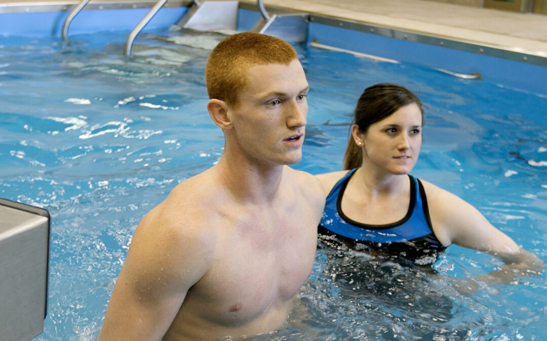All-American track athlete chases his dream … in the pool