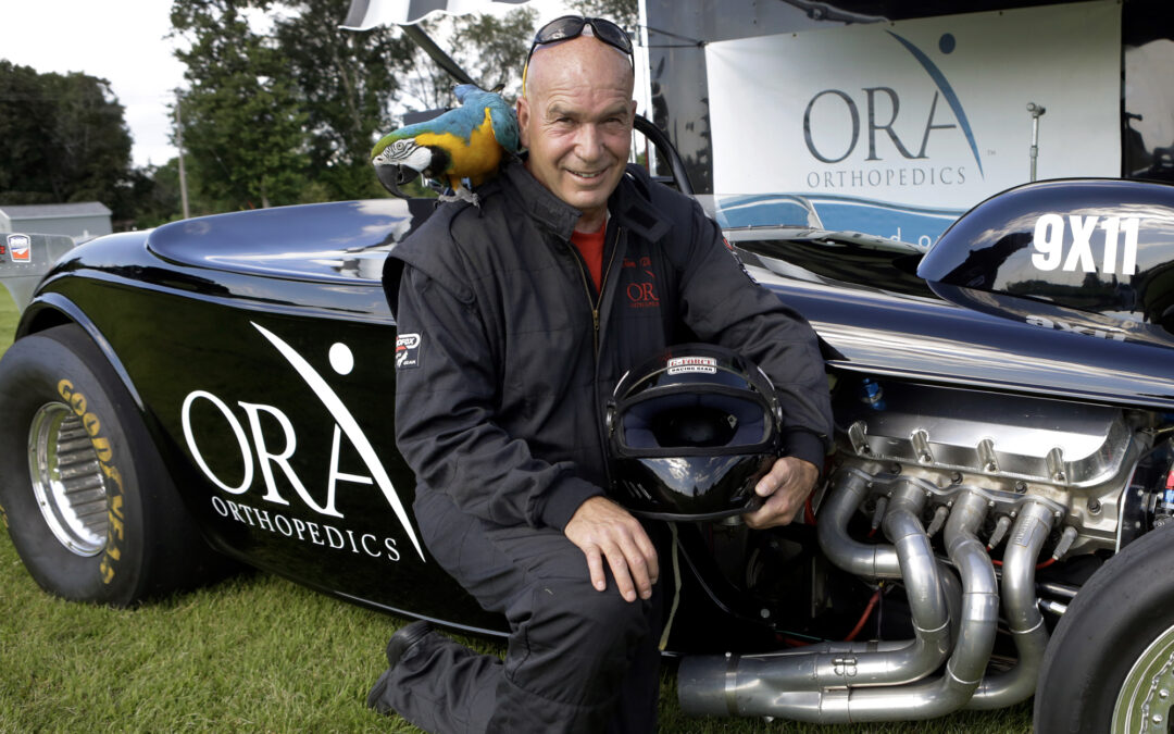 Drag racing and rock-n-roll: Meet ORA physician assistant Thomas Drabek