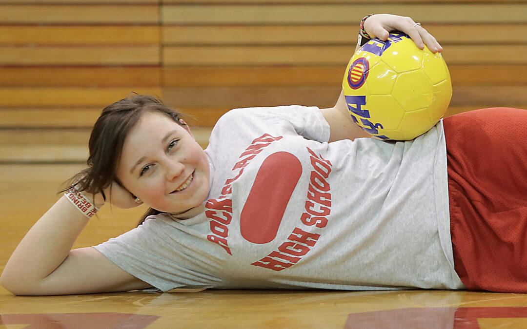Rocky soccer player kickin' it after scoliosis surgery