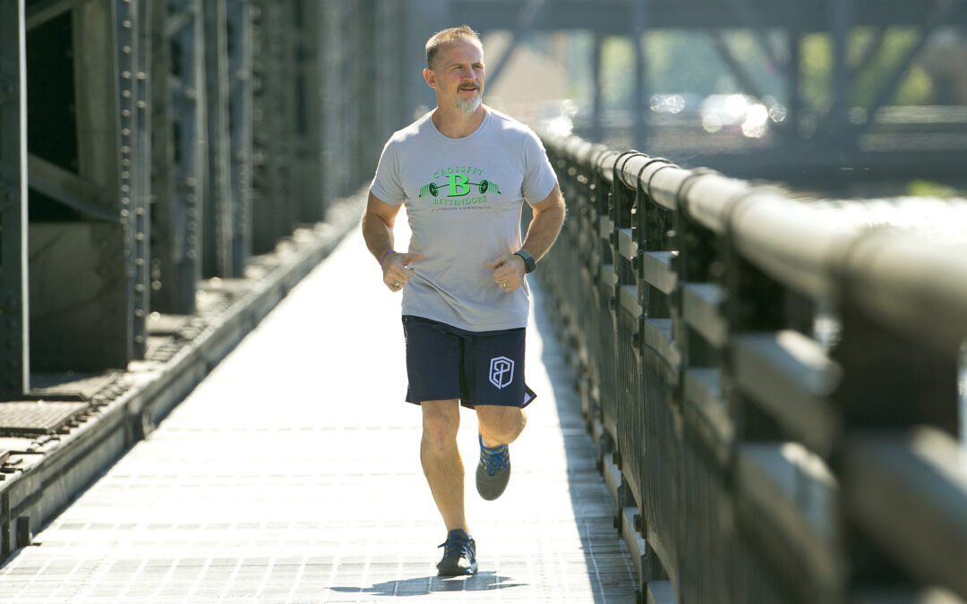 Fit at any age: Bettendorf Bix runner, cross-fitter inspires with no excuses