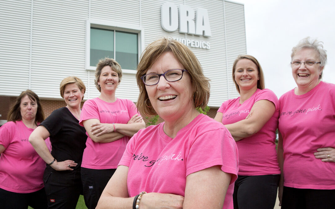 Mary Miller walks to help conquer breast cancer