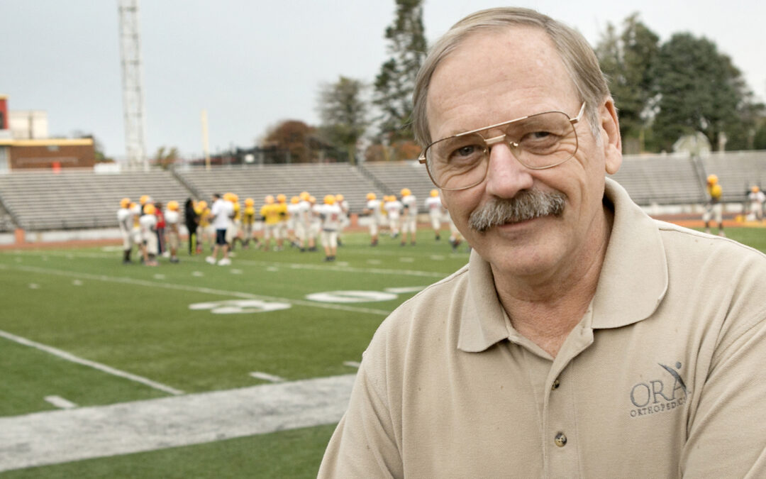 Rocky football team doctor gets players back into the game