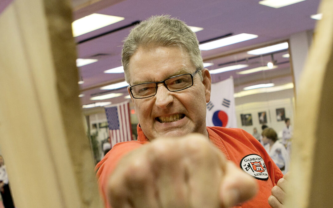 Local Taekwondo master back after two new hips