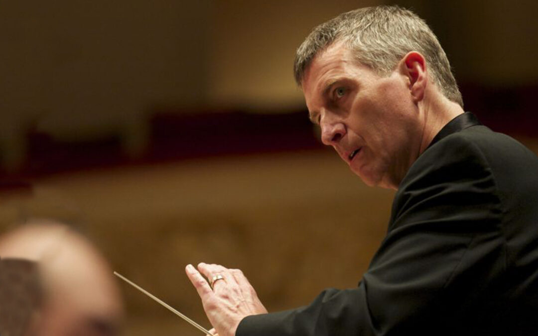 Hallelujah! QC conductor ready for the 135th anniversary of The Messiah