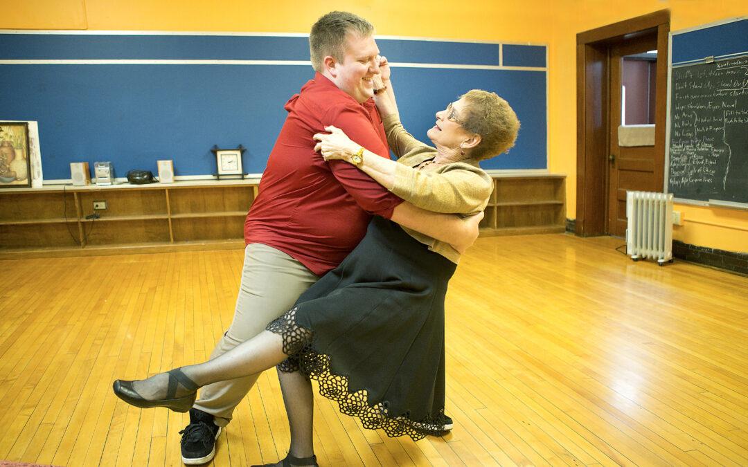 Waltzing through life: 79 year-old woman dances again