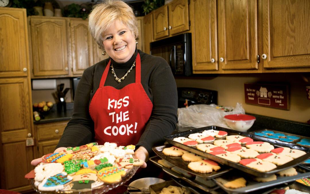 Santa's cookie elf baking overtime after shoulder surgery