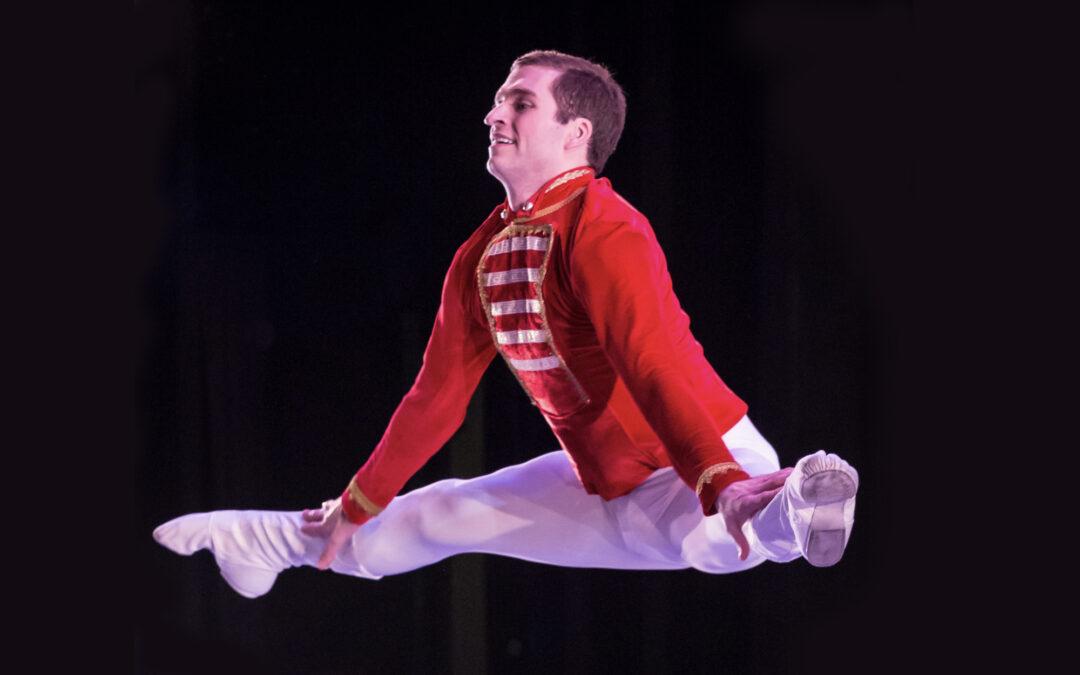 Meet Ballet Quad Cities' Nutcracker Prince Patrick Green